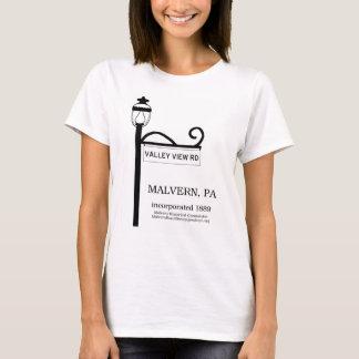 Camiseta PA de Malvern - T-shirt da estrada da opinião do