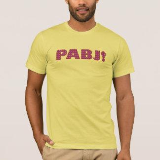 Camiseta PABJ! Teste padrão