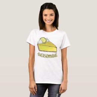 Camiseta Padeiros que vão cozer a torta do limão chave de