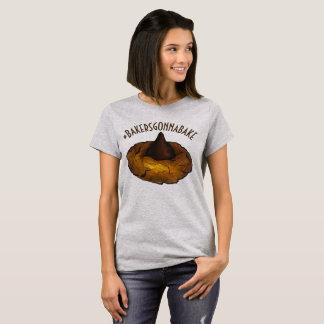 Camiseta Padeiros que vão cozer o biscoito de manteiga do