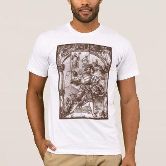 Camiseta Padrão-Portador de Landsknecht