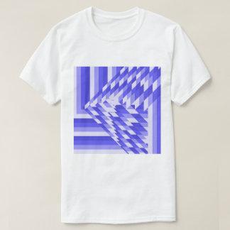 Camiseta padrões do triângulo