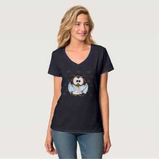 Camiseta paginando a coruja nova do doc