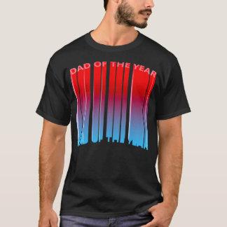 Camiseta Pai 3D épico do inclinação do ano