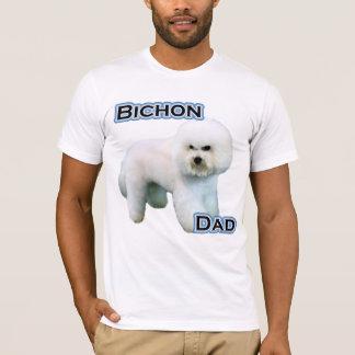 Camiseta Pai 4 de Bichon Frise