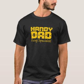 Camiseta Pai acessível - especialista da fixação!