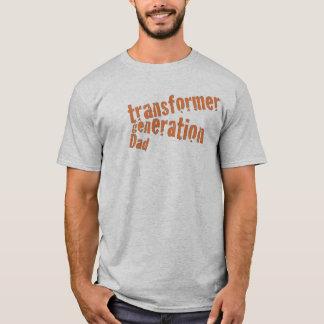 Camiseta Pai da geração do transformador