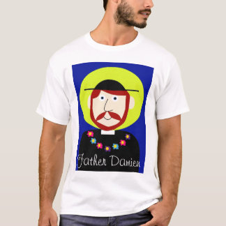 Camiseta Pai Damien de Molokai