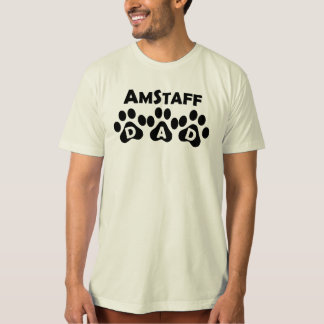 Camiseta Pai de AmStaff