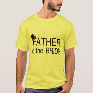 Camiseta Pai do chapéu alto da noiva