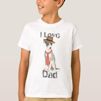 Camiseta Pai do galgo italiano