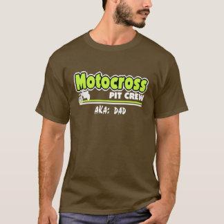 Camiseta Pai do grupo de poço do motocross