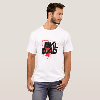 Camiseta Pai mau marcado t-shirt