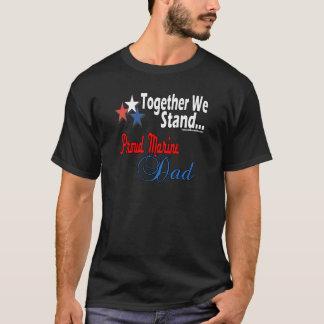 Camiseta Pai militar orgulhoso
