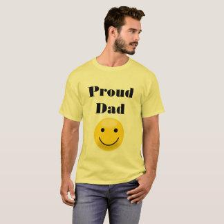 Camiseta Pai orgulhoso