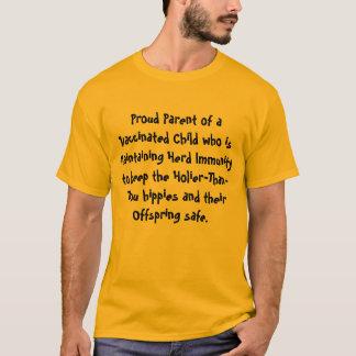 Camiseta Pai orgulhoso da criança vacinada