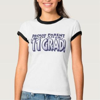 Camiseta Pai orgulhoso da engrenagem de 2011 formandos