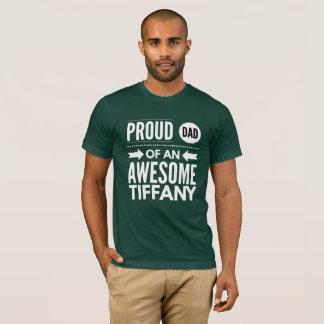 Camiseta Pai orgulhoso de Tiffany impressionante
