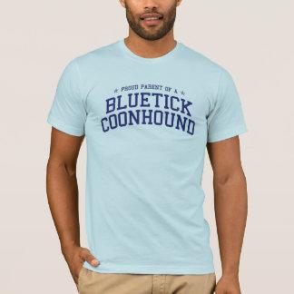 Camiseta Pai orgulhoso de um t-shirt do Coonhound de