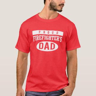 Camiseta Pai orgulhoso dos sapadores-bombeiros