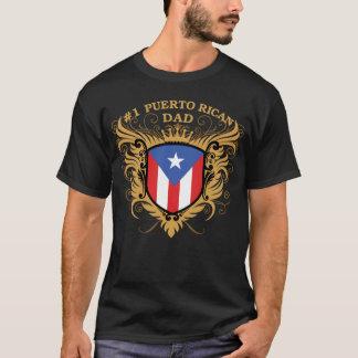 Camiseta Pai porto-riquenho do número um