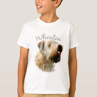 Camiseta Pai Wheaten brandamente revestido 2 de Terrier