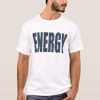 Camiseta Painéis solares da energia