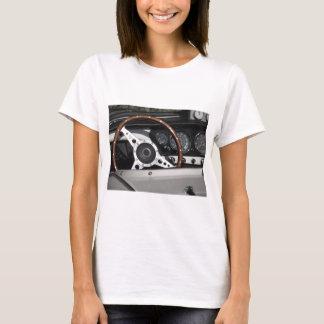 Camiseta Painel de um carro clássico britânico velho