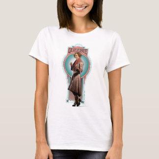 Camiseta Painel do art deco de Queenie Goldstein