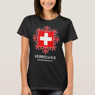 Camiseta País das maravilhas suíço do inverno de