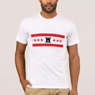 Camiseta País de Países Baixos da bandeira da região de