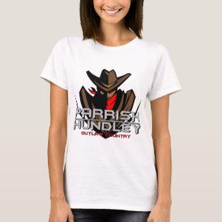 Camiseta País do fora da lei de Parrish-Hundley