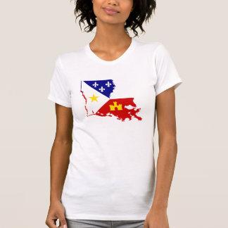 Camiseta País francês de Louisiana Acadiana Cajun do