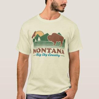 Camiseta País grande do céu de Montana