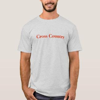 Camiseta País que transversal você obtem o que você