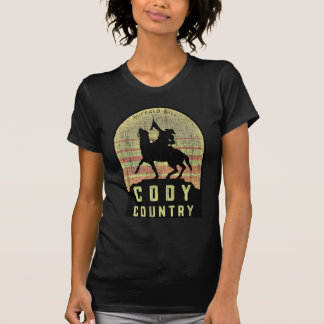 Camiseta País Wyoming de Cody
