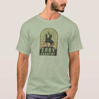 Camiseta País Wyoming de Cody
