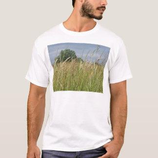 Camiseta Paisagem do verão do campo selvagem no campo