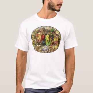 Camiseta Países das fadas de Richard Dadd: Oberon & Titania