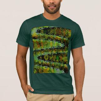 Camiseta Países das maravilhas - lagoas verdes escuro