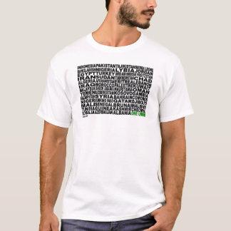 Camiseta Países de um Ummah