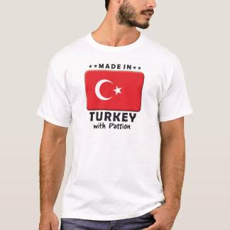 Camiseta Paixão de Turquia