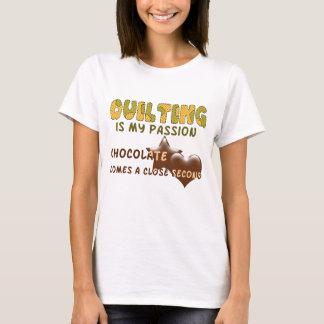 Camiseta Paixão estofando