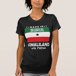 Camiseta Paixão W de Somaliland