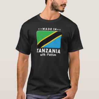 Camiseta Paixão W de Tanzânia