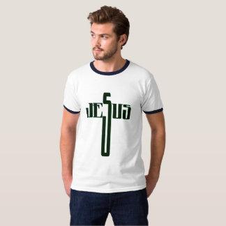 Camiseta Palavra transversal de Jesus