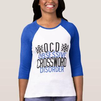 Camiseta Palavras cruzadas obcecadas