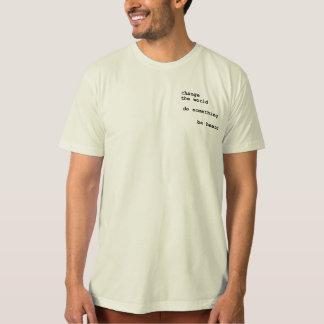 Camiseta Palavras impressas em um t-shirt