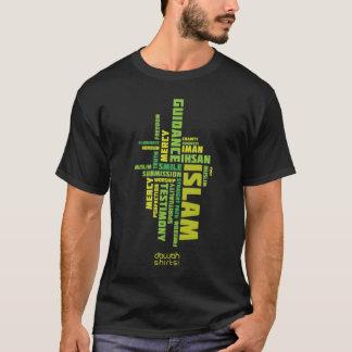 Camiseta Palavras islâmicas