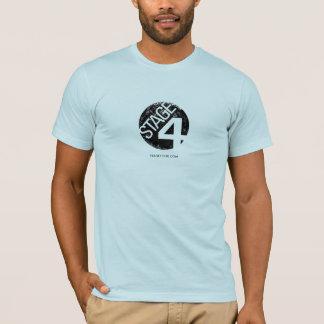 Camiseta Palco quatro - O T dos homens do logotipo do